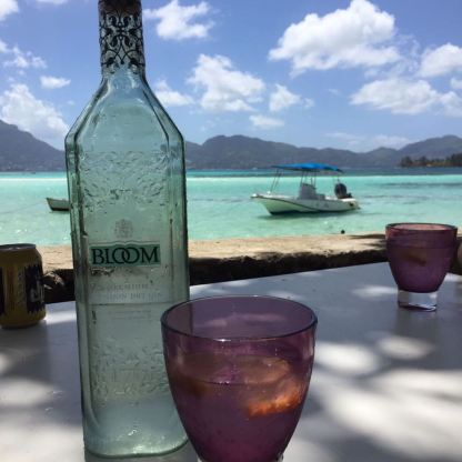 Bloom Gin, in Seychelles